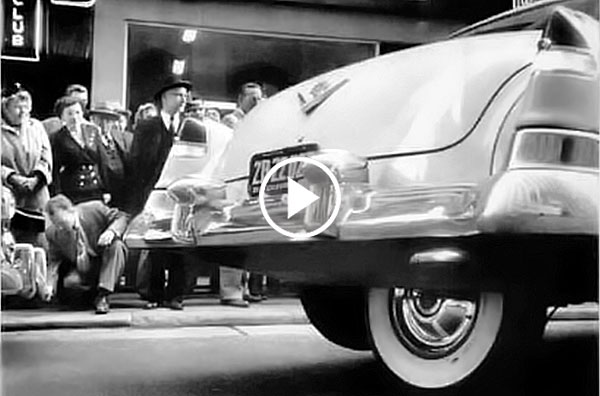 Parccar Spare Tire Parking Innovation From The 1950s