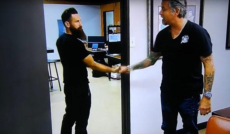the moment aaron kaufman said goodbye to richard rawlings and gas monkey garage throttlextreme. Black Bedroom Furniture Sets. Home Design Ideas