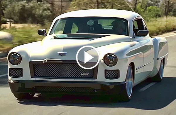 """""""Madam V"""" '48 Cadillac by Ring Brothers Is Amazing Fusion ..."""