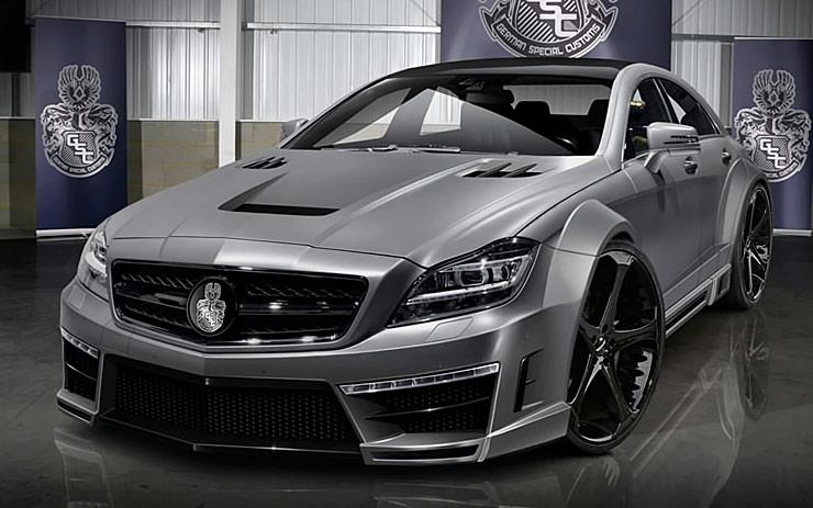 BadAss MercedesBenz CLS 63 AMG Stealth by GSC  ThrottleXtreme