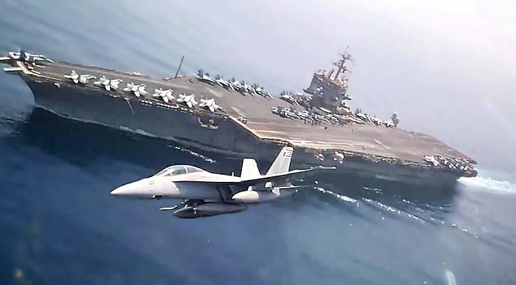Spectacular US Navy F-18 Super Hornet Cockpit View - Hi-Speed Low ...