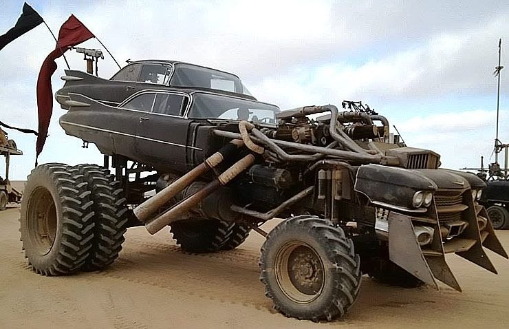 The Gigahorse Totally Insane Mad Max Vehicle Throttlextreme