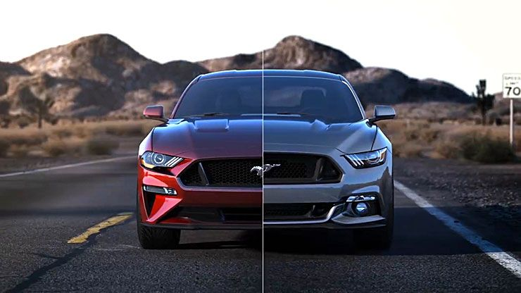 2018 ford mustang facelift brochure reveals new features and options throttlextreme. Black Bedroom Furniture Sets. Home Design Ideas