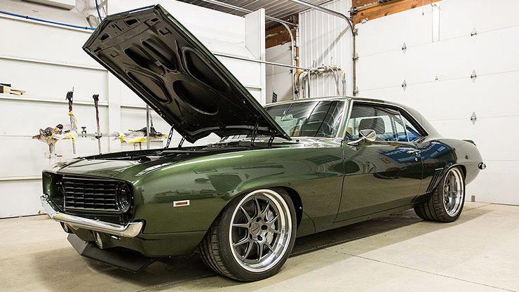 1968 Camaro Pro Touring >> Chris Kinker's Fathom Green ProTouring '69 Camaro - ThrottleXtreme