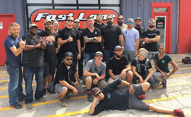 richard rawlings stars in all new discovery tv show garage rehab throttlextreme. Black Bedroom Furniture Sets. Home Design Ideas