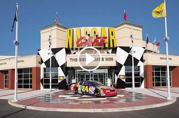 NASCAR Cafe Abandoned For More Than Ten Years Still Has All Its Memorabilia - ThrottleXtreme