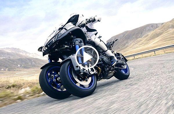 Yamaha Unveils 'NIKEN', a High-Performance Tilting 3-Wheel Sportbike -  ThrottleXtreme