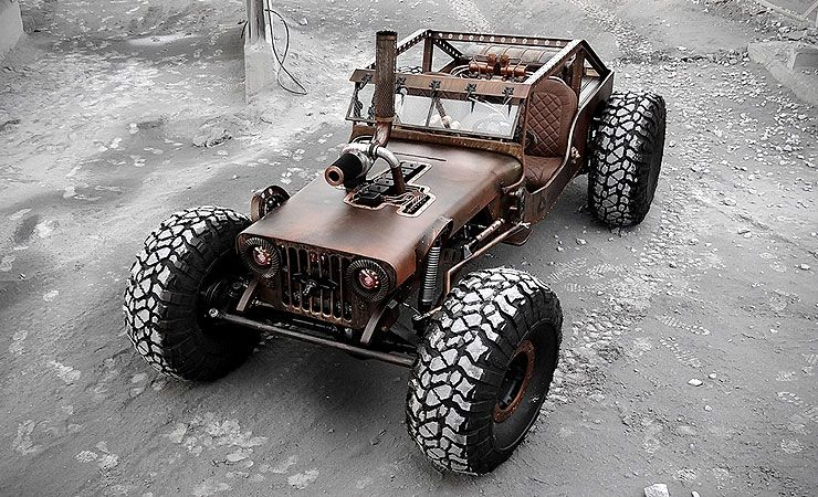 like rat rods? like jeeps? then you might want to have a look at the