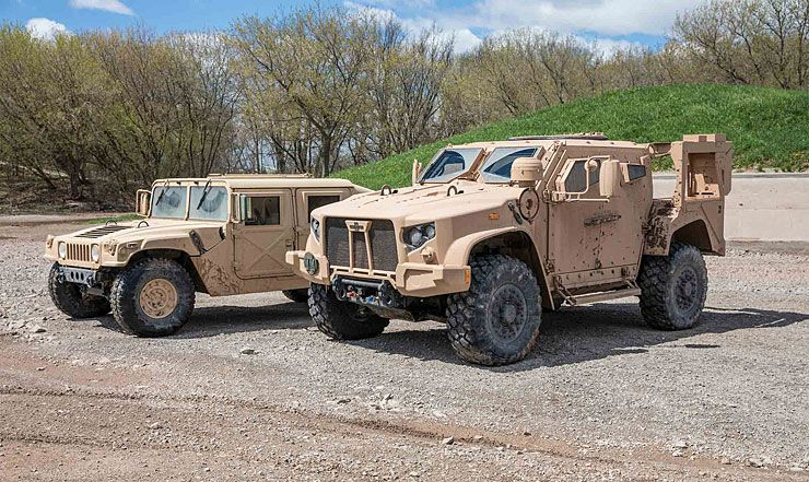 The Humvee S Replacement The Oshkosh Jltv Is Totally