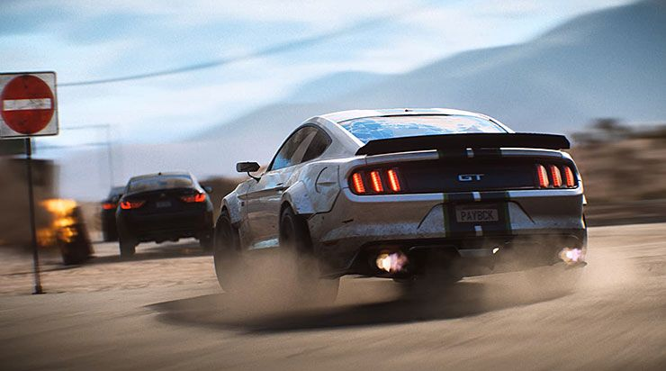 Need For Speed Payback Trailer Shows Off Ram Raid Mission
