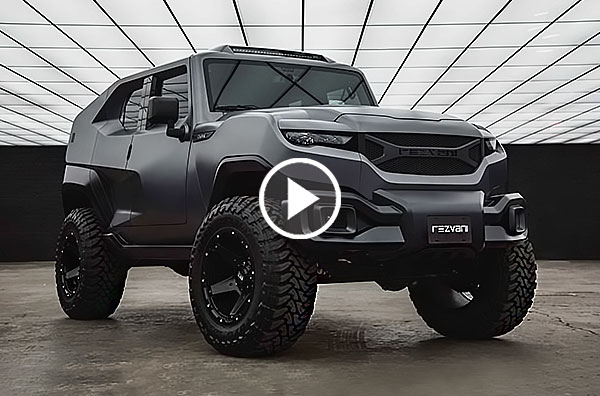 Black Chevy Impala >> Rezvani Tank Is The Wild Armored SUV Ready For The Zombie