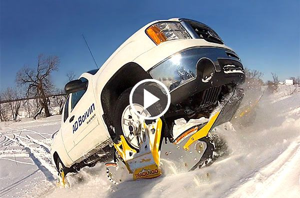 Track N Go Will Turn Your Pick Up Truck Into A Snow Going
