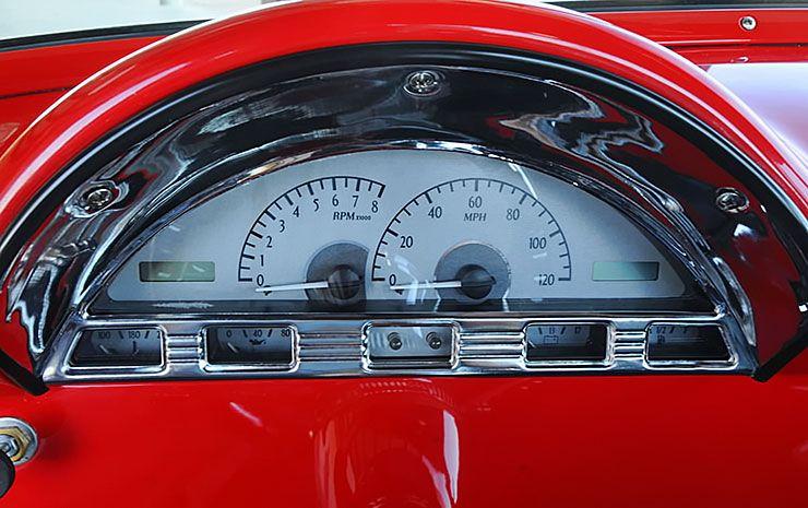 1956 Ford F-100 Troy Lambert gauges