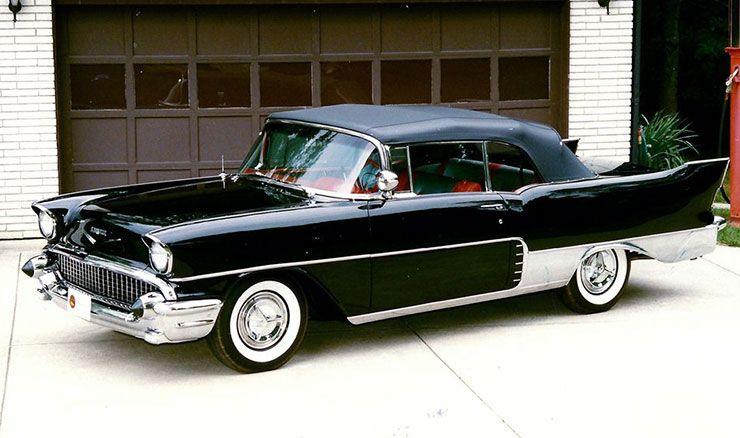 1957 Chevrolet El Morocco convertible front