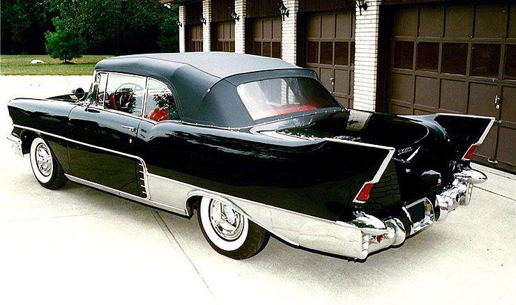 1957 Chevrolet El Morocco convertible rear