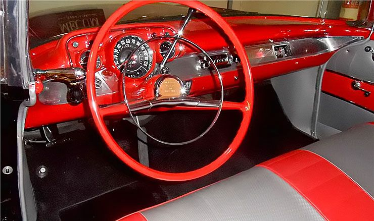 1957 Chevrolet El Morocco dashboard