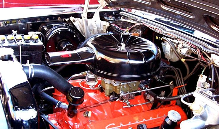 1957 Chevrolet El Morocco engine