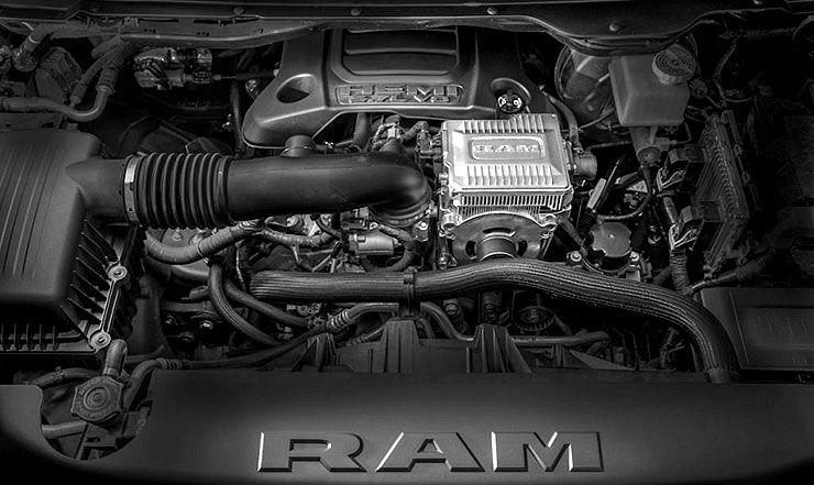 2019 Ram 1500 Hemi motor