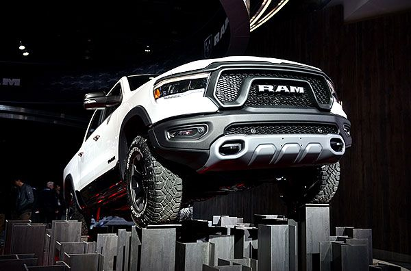 RUGGED And REFINED: 2019 Ram 1500 Rebel