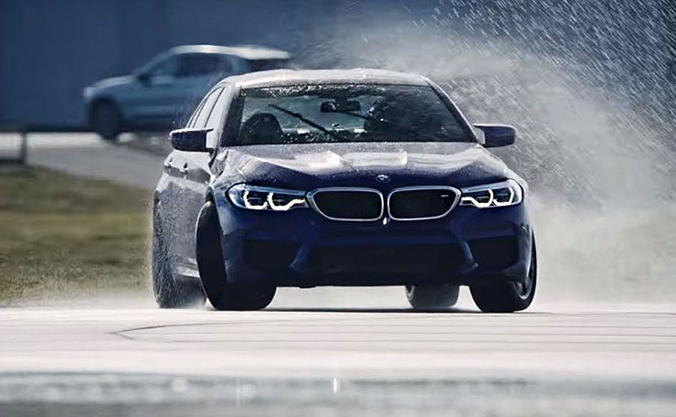 BMW set the world record for the longest continuous drift