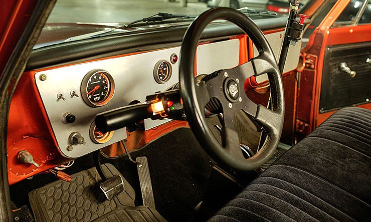 Chevrolet C-10 from Fast and Furious 4 interior