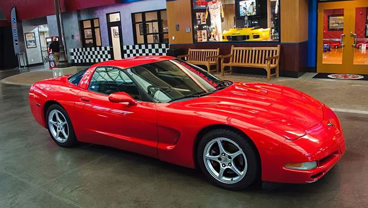 Chevy Corvette C5 with over 770000 miles