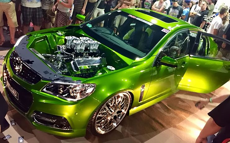 Holden Commodore Reload