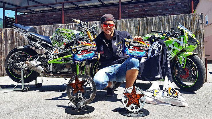 Matija Podhraski stunt rider