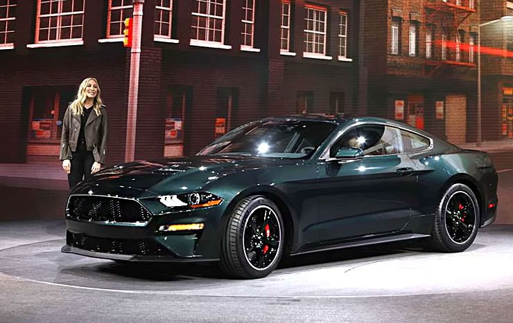 steve mcqueen s grand daughter molly drives up in 2019 ford mustang bullitt throttlextreme. Black Bedroom Furniture Sets. Home Design Ideas
