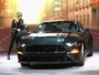 Molly McQueen unveiling 2019 Ford Mustang Bullitt