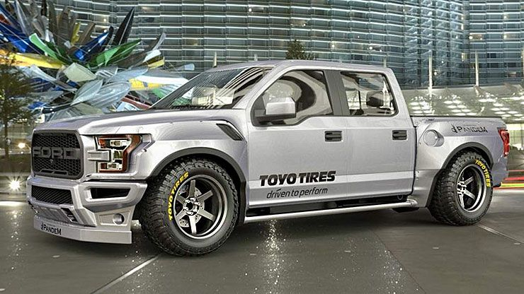 Rocket Bunny Widebody F-150 Raptor