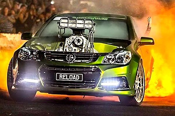 How Much Is A Car Paint Job >> Reload! Steve Loader's 532-Cube Burnout Machine - ThrottleXtreme