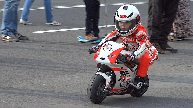 Tima Kuleshov worlds youngest professional motorcyclist