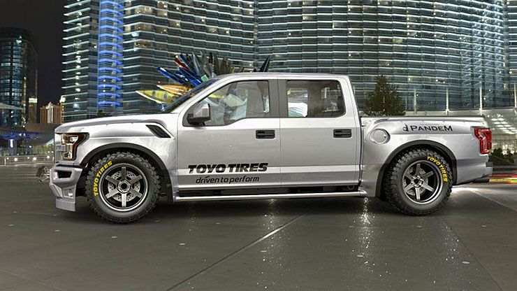 Wide-Body kit for the Ford F-150 Raptor