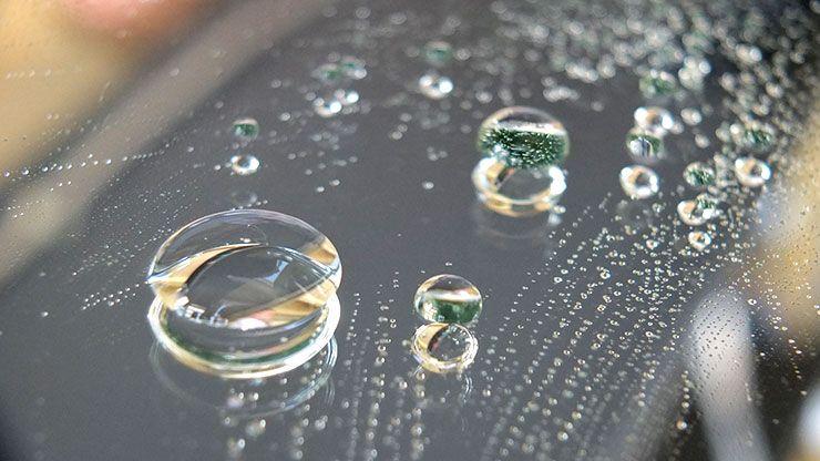 gentoo hydrophobic material