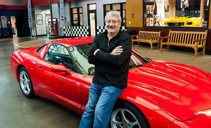 guy donates Corvette with 770000 plus miles to museum