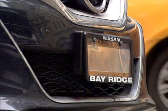 some police officers use illegal license plate covers to avoid tool