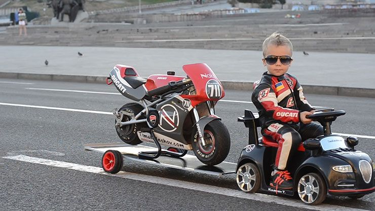 worlds youngest professional motorcyclist