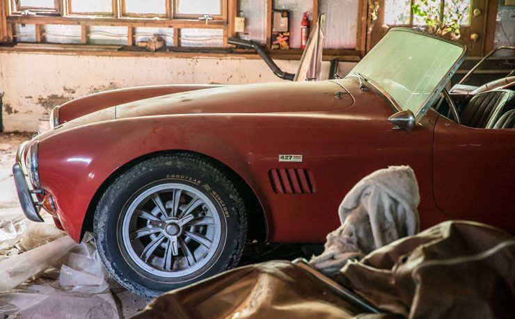 1966 Shelby Cobra 427 found after 26 years