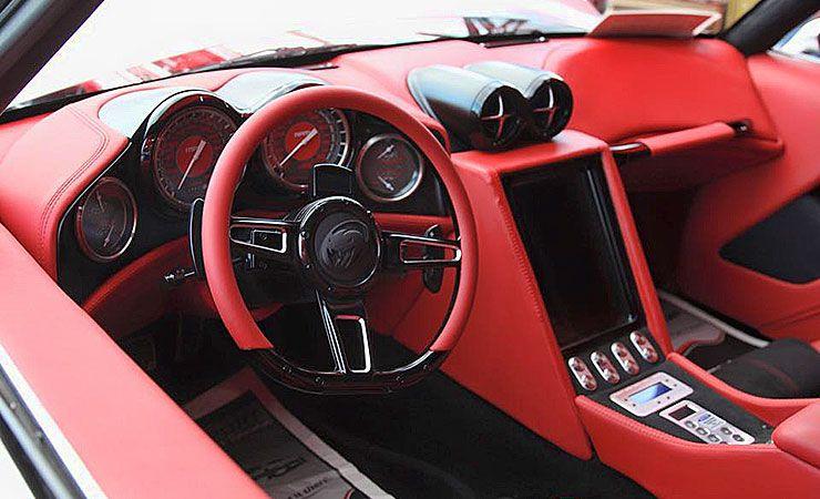 1971 Plymouth Barracuda Medusa interior