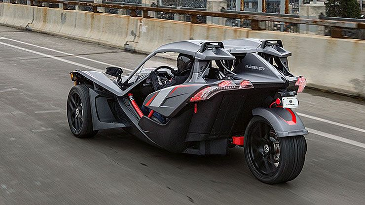 2018 Polaris Slingshot Grand Touring LE rear left