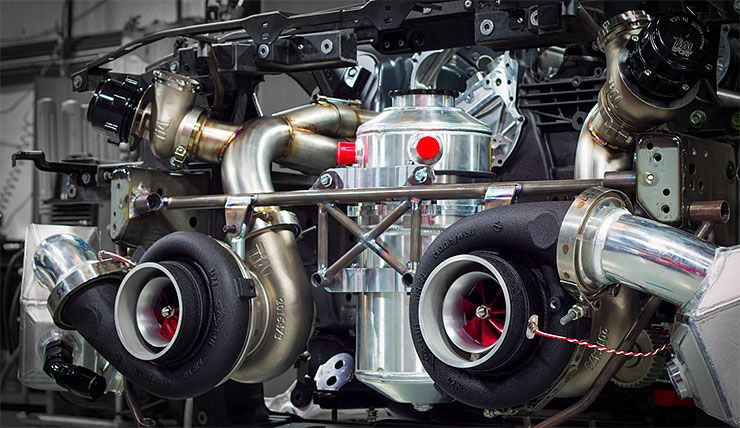 2500hp GT-R engine from T1 Race Development
