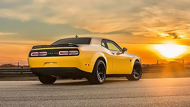 Dodge Demon by Hennessey Performance rear