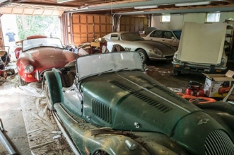 Ferrari 275 GTB and Cobra 427 found after decades in condemned garage