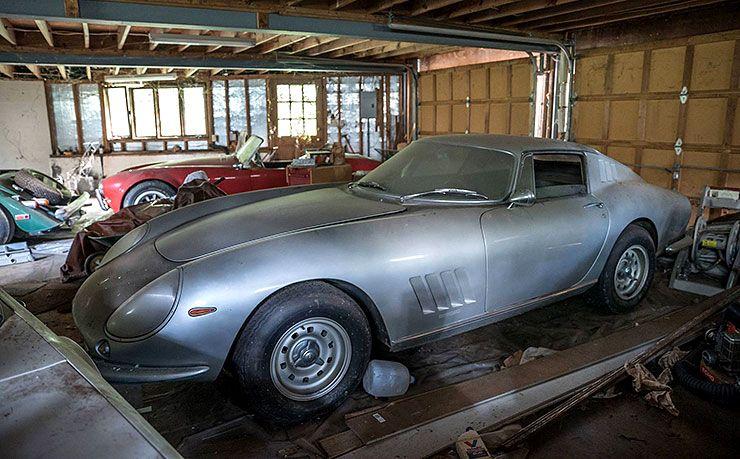 Ferrari 275 GTB found after 26 years