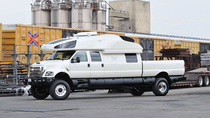world most expensive Ford F750 world cruiser