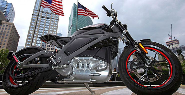 Harley-Davidson electric motorcycle announced