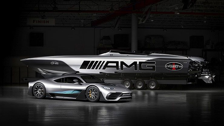 Mercedes-AMG Project ONE inspired Cigarette Racing 515 Project ONE