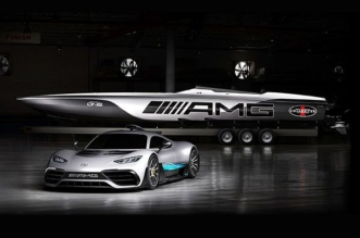 Mercedes-AMG project ONE and Cigarette Racing 515 Project ONE