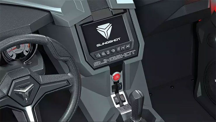 Polaris Slingshot Grand Tour LE Ride Command infotainment system